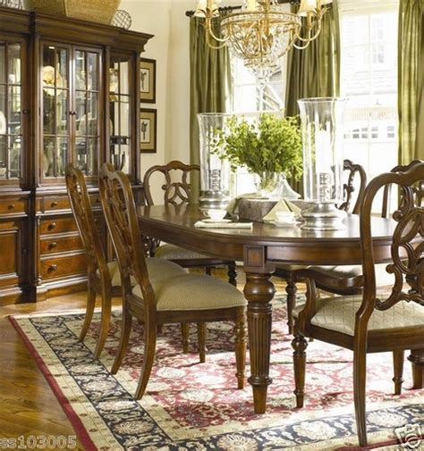 thomasville dining room set thomasville fredericksburg collection dining room set with 8 chairs