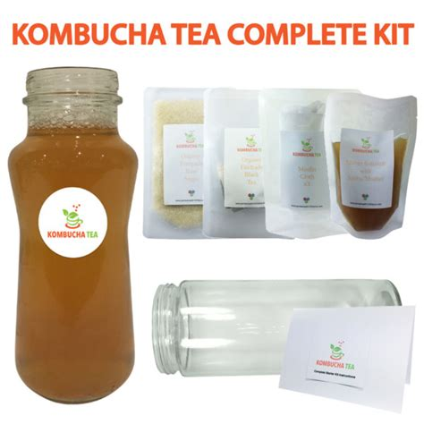 Kombucha Cleanse Detox by Kombucha Tea Complete Starter Kit Cleansing Organic