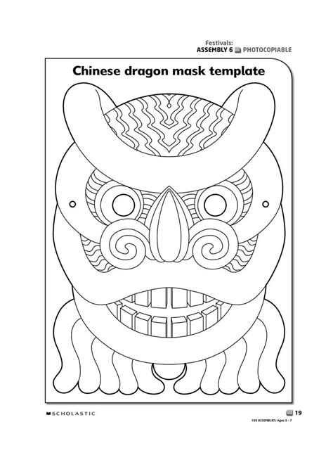 new year mask template 33 best images about kinesiske masker on