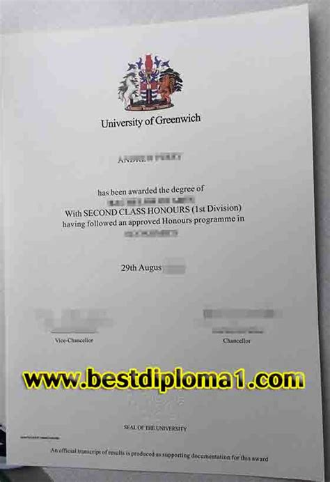 Of Sunderland Mba Accreditation by Of Greenwich Degree Certificate Uk Diploma Buy