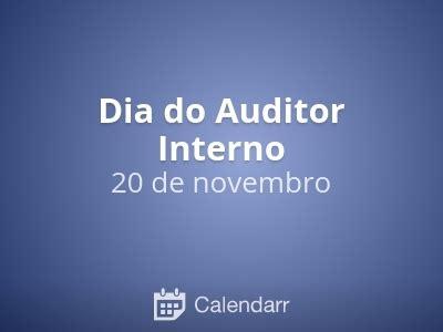 auditor interno dia do auditor interno 20 de novembro