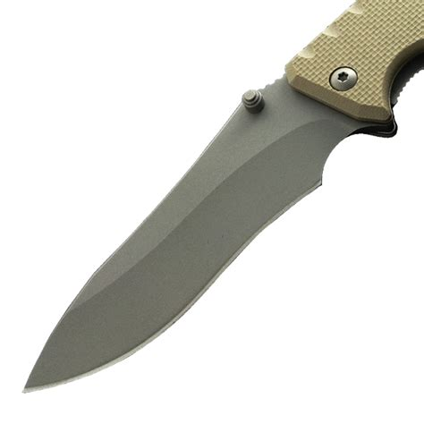 bead blasted bead blasted blade tactical knife 212bbtn tactical knife