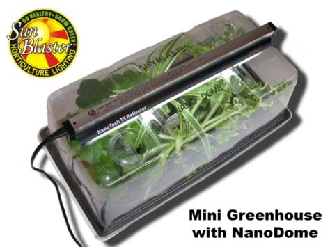 mini indoor greenhouse with light mini indoor greenhouse with nano dome garden sunblaster