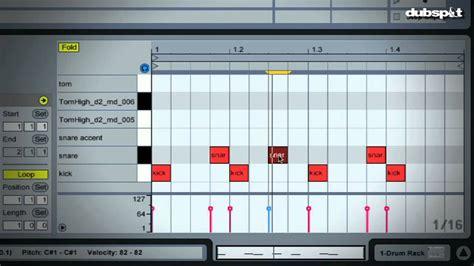 tutorial not drum uk funky ableton live tutorial drum programming basics