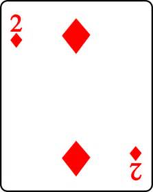 קובץ playing card diamond 2 svg ויקיספר
