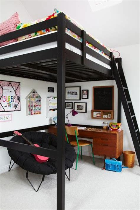 black bunk beds black loft bed for boys