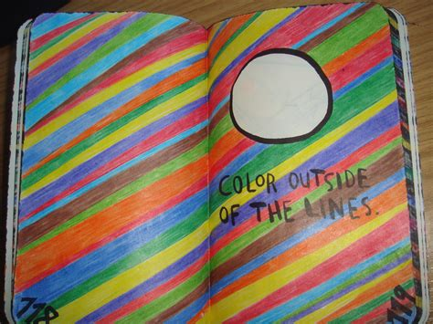 Color Outside The Lines Million Wreck This Journal Xlalalalisax