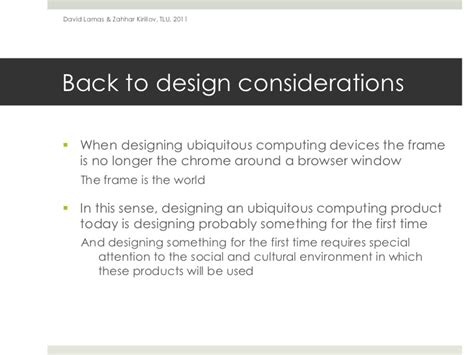 experimental design considerations experimental input and output