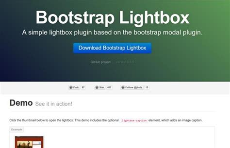 tutorial bootstrap lightbox 50 must have plugins for extending twitter bootstrap