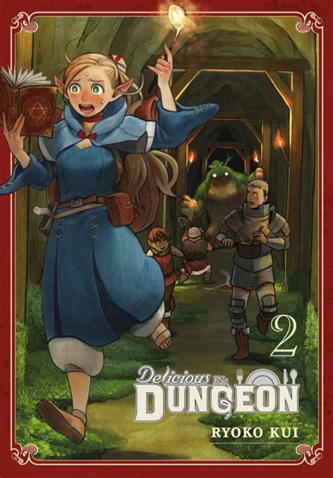 delicious in dungeon vol 1 delicious in dungeon volume 2 review theoasg