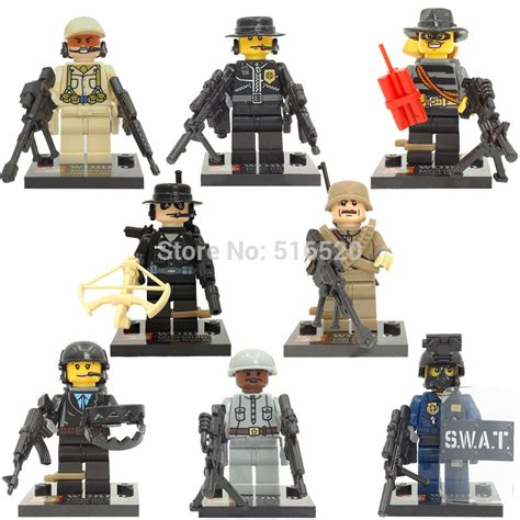 Mini Figures Swat Sy By Hobijepang sy168 minifigures