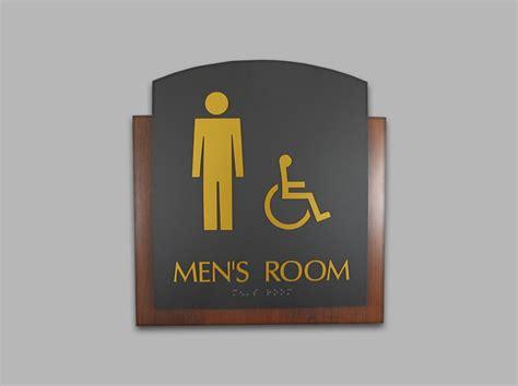 custom bathroom signs high pressure laminate erie custom signs