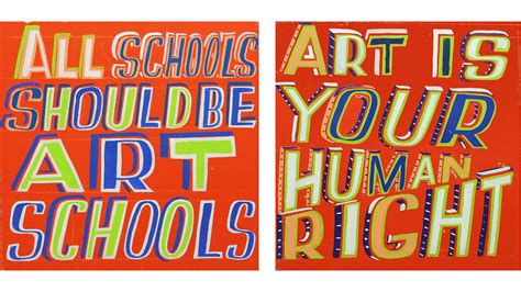 Home Design 3d Reviews by Bob And Roberta Smith S New Show Champions The Value Of