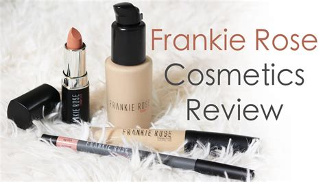 Review Mojo Cosmetics 3 by Frankie Cosmetics Review Demo Tutorial