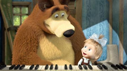 tutorial piano masha and the bear masha and the bear netflix