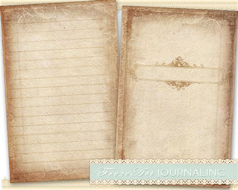 journal paper template word journal pages diary pages printable paper craft journaling
