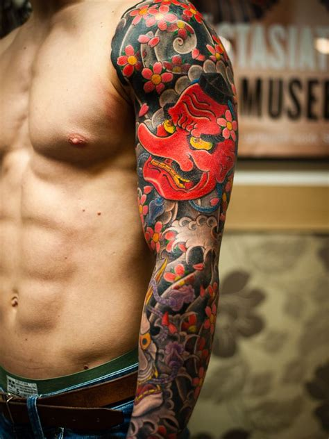 tattoo oriental irezumi tengu irezumi japanese tattoo love these colors