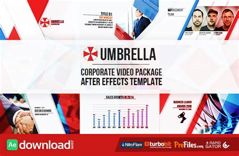 after effects corporate templates free flat design archives free after effects template