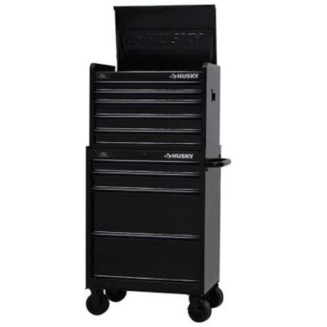 husky 27 in 8 drawer tool chest and cabinet set husky 27 in w 9 drawer tool chest and cabinet set black