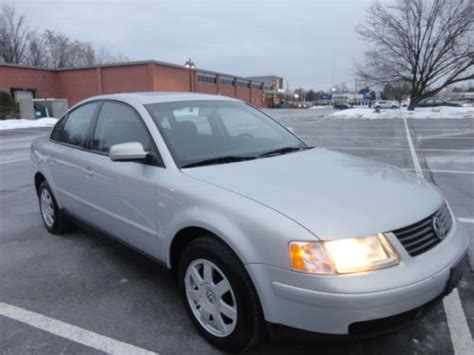 automobile air conditioning service 2001 volkswagen passat spare parts catalogs find used 2001 vw passat gls turbo low miles 5spd gas saver clean no reserve in