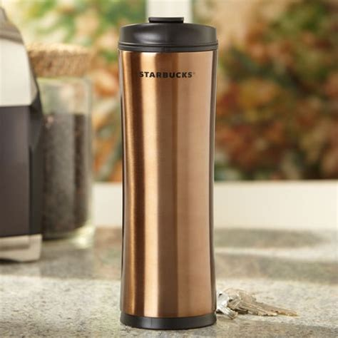 Termos Tumbler Starbucks Slim Stainless Color stainless steel starbucks 174 tumbler brown this is the best coffee mug products i
