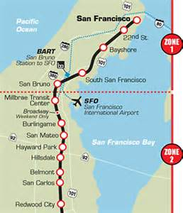 San Francisco Caltrain Map by Caltrain To Hold Public Hearings On Fiscal Emergency