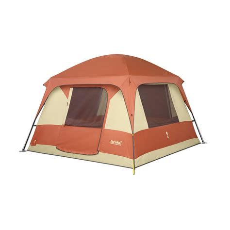 Cabin Style Tent by Eureka Copper 6 Cabin Style Tent Ebay