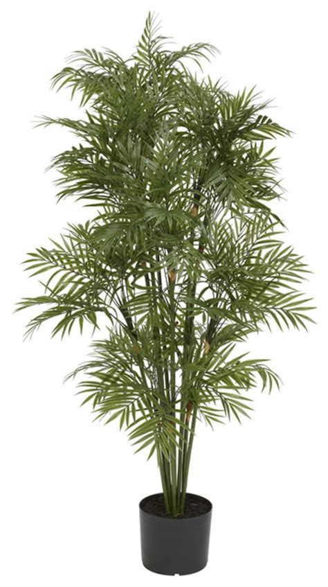 artificial tropical plants and trees 4 plastic parlour palm tree tropical artificial