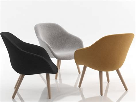 lounge armchairs about a lounge chair aal82 3d model hay