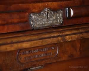 Wooton Desk Indianapolis Cabinet Company Roll Top Desk C 1890