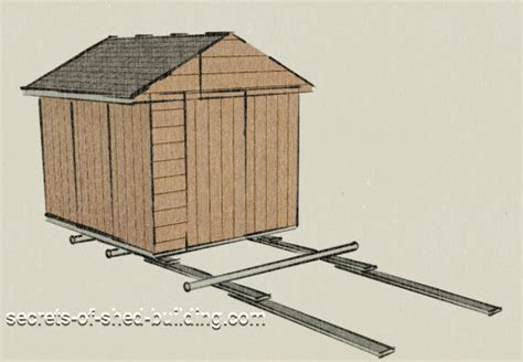 Moving A Storage Shed Step By Step In Theory And Practice
