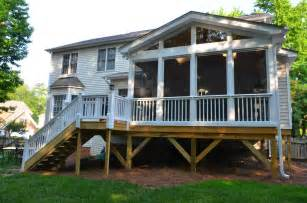deck over screened porch screened patio pinterest screened in porch porches and porch