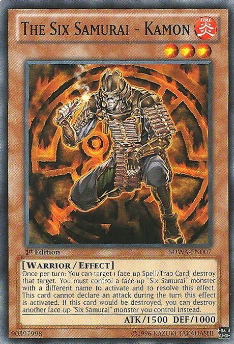 Kartu Yugioh The Six Samurai Zanji Common the six samurai kamon sdwa en007 common 1st edition yu gi oh singles 187 structure deck