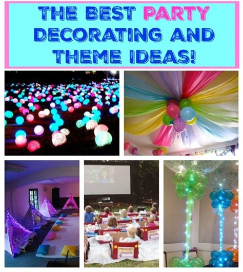 Party Themes Easy | the best party decorating ideas themes kitchen fun