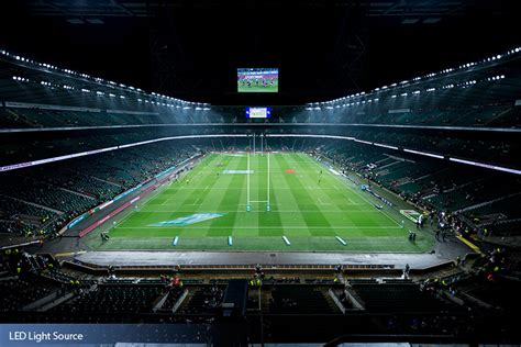 Stadium Lighting Fixtures Twickenham Stadium Led Light Source