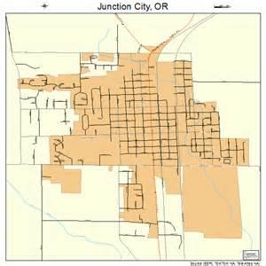 junction city oregon map junction city oregon map 4138000