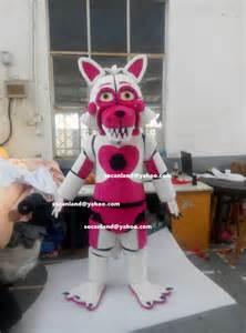 Halloween fnaf funtime foxy mangle costumes fnaf funtime foxy mangle