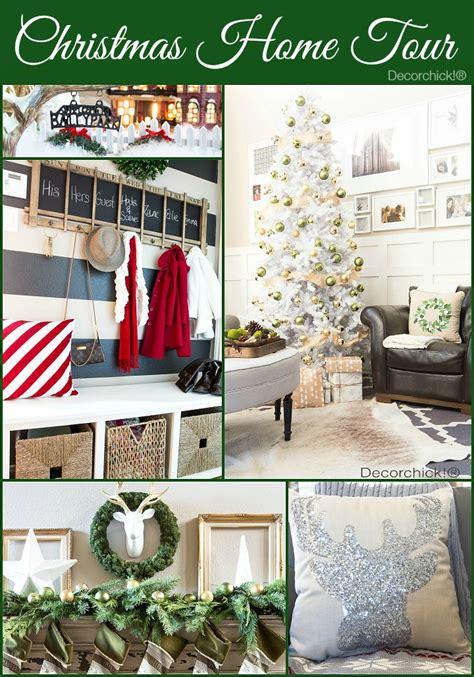 christmas home decor 2014 christmas home tour 2014 decorchick