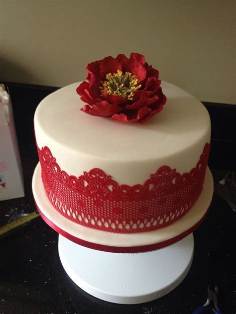 25  Best Ideas about Ruby Wedding Cake on Pinterest   Ruby