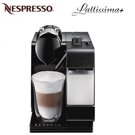 Nespresso Lattissima Plus Machine Black delonghi nespresso lattissima plus en520b black coffee machine around the clock offers
