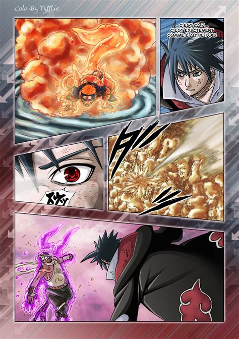 Sasuke vs Hachibi by Tyfflie on DeviantArt Hachibi Vs Sasuke