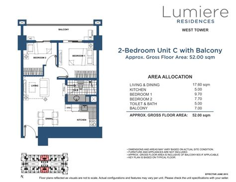 lumiere floor plan dmci homes lumiere residences pasig