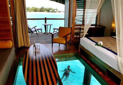 le meridien bora bora overwater bungalow resorts