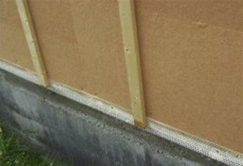 Attrayant pose bardage bois exterieur 6 pose du bardage sur murs ext233rieur en ossature bois