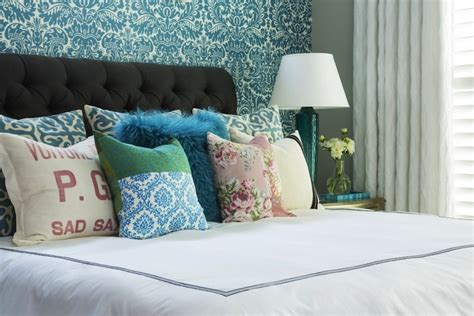 turquoise bedroom wallpaper turquoise damask wallpaper contemporary bedroom