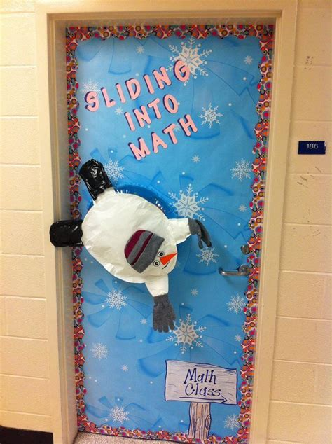 math like christmas door decorations quot my winter door for my math class quot submitted by latonya rowe via our weareteachers
