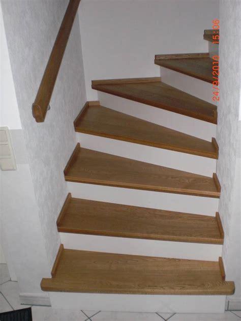 Innenausbau Ideen Wände by Stufen Auf Betontreppe Viertel Gewendelt Eichestufen