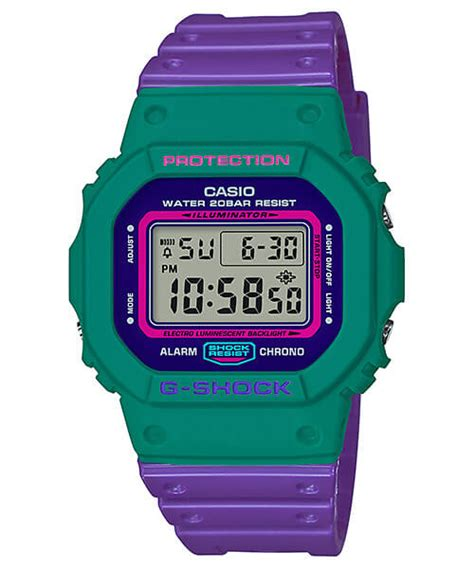 Casio G Shock Dw 5600 Kw Pink g shock dw 5600tb throwback 80s fashion colors g