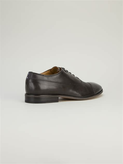 diesel oxford shoes diesel black gold classic oxford shoes in black for lyst