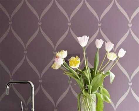 pattern for wall stencil 40 modern ideas for interior decorating with stencils